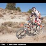 Juan Pedrero en la Baja España Aragon 2010