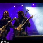 Joey Tempest y John Norum guitarreando - Europe