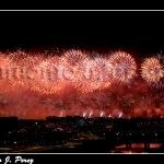 Fuegos Artificales clausura Expo 2008