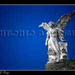 Angel en el Cementerio de Comillas